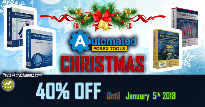 Automated Forex Tools 40% OFF Christmas Special Offer
