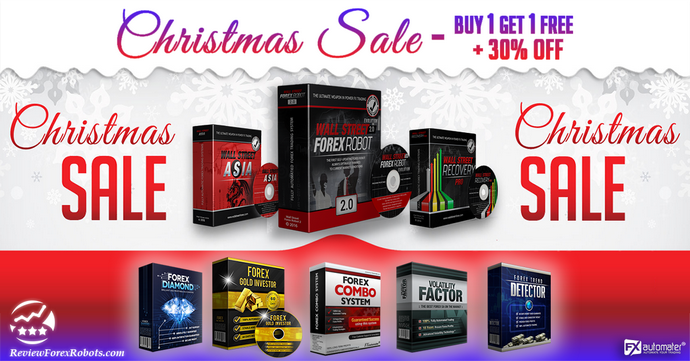 Buy 1 Get 1 Free + 30% OFF! Fx Automater Christmas Special Offer!