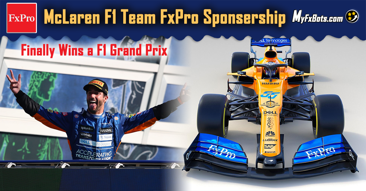 FxPro officially sponsors the McLaren F1 Team