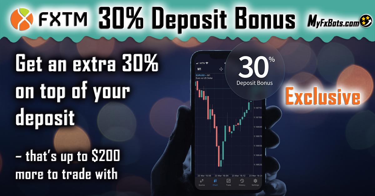 FXTM Exclusive 30% Deposit Bonus