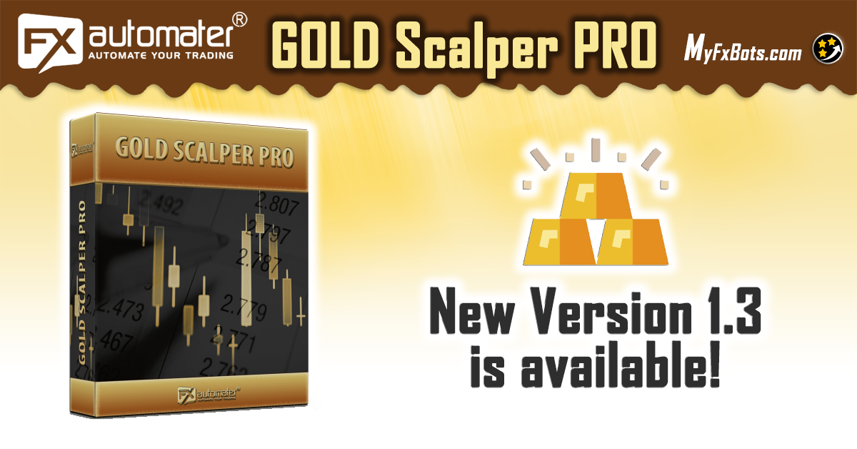 A new version 1.3 of Gold Scalper PRO has been released!