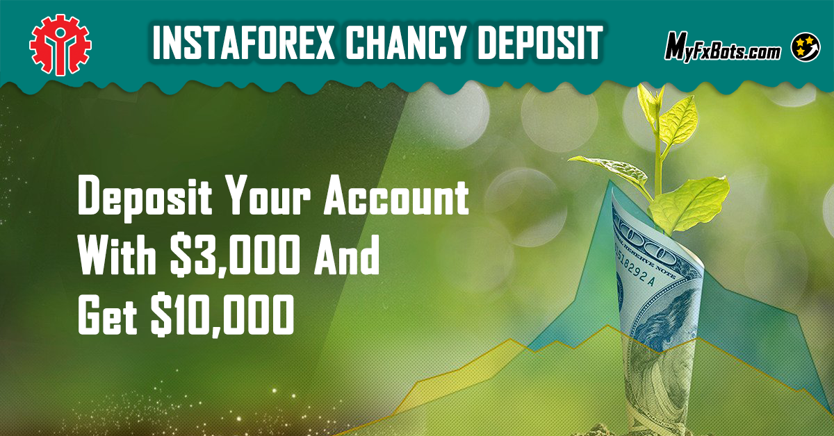 Chancy! Deposit $3,000 and get $10,000