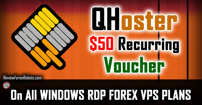$50 Recurring Voucher on All QHoster Windows RDP Forex VPS Plans