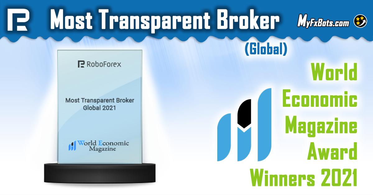 RoboForex is the Most Transparent Broker (Global) 2021