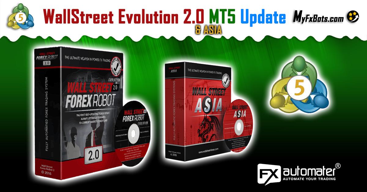 WallStreet Forex Robot 2.0 Evolution MT5 Version Updated